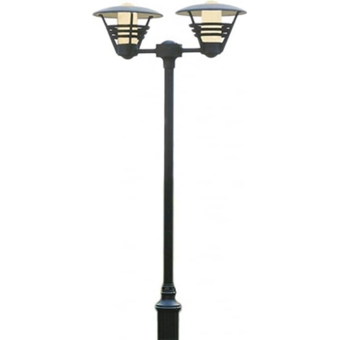 Konstsmide Garden Lighting Gemini twin post light