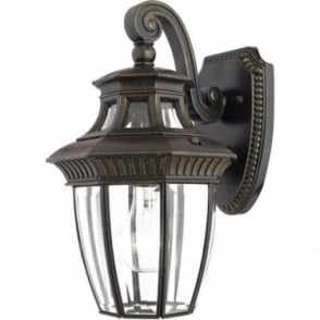 Georgetown 2 small wall lantern - Bronze