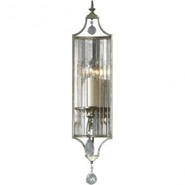 Gianna Single Wall Light Gilded Silver