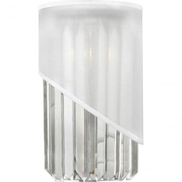 Gigi Single Light Wall Light Polished Nickel