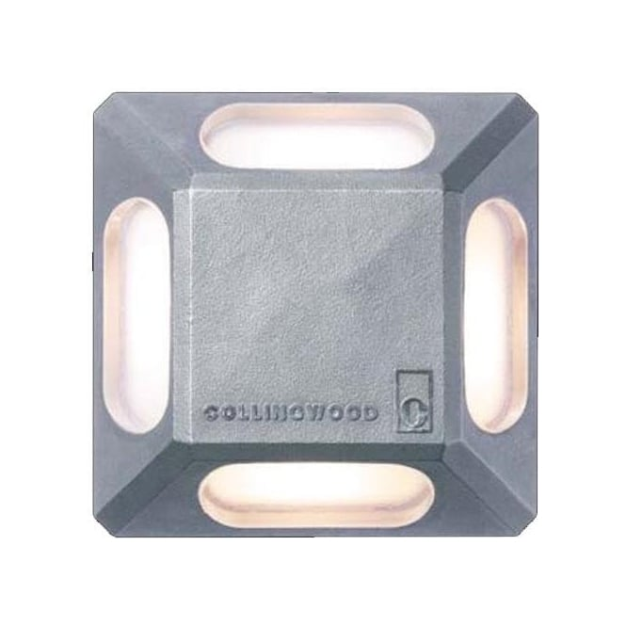 Collingwood Lighting GL064 4 Way LED marker light - stainless steel - Low voltage