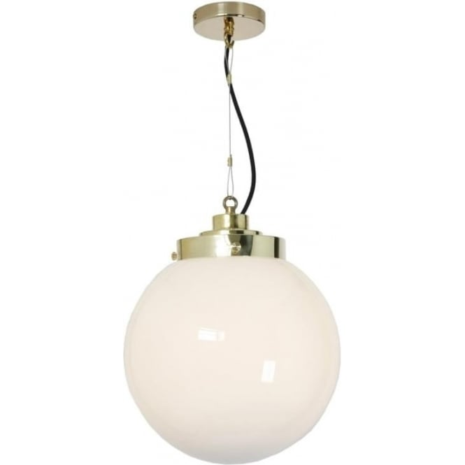 Original BTC Lighting Globe Pendant Light - Medium - colour options