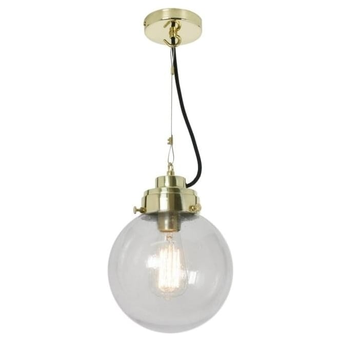 Original BTC Lighting Globe Pendant Light - Small - colour options