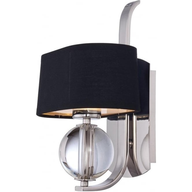 Quoizel Gotham Single Wall Light Imperial Silver