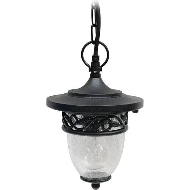 Gardenzone GZH Burford pendant chain lantern - Black