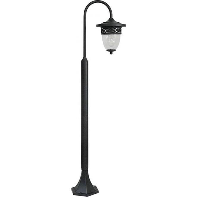 Gardenzone GZH Burford pillar lantern - Black