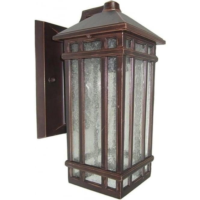 Gardenzone GZH Chedworth wall lantern - Old Bronze