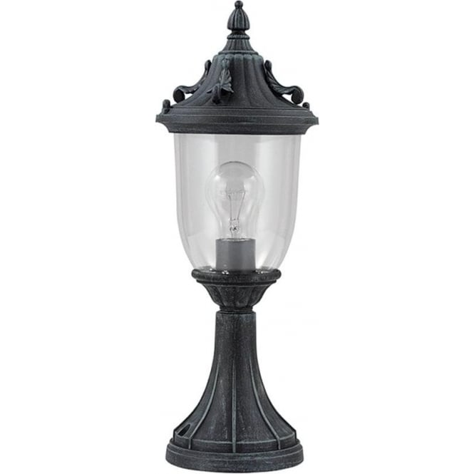 Gardenzone GZH Elkstone pedestal lantern - Verdigris