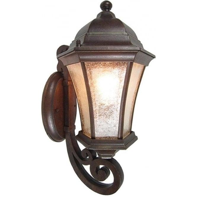 Gardenzone GZH Gloucester wall lantern - Bronze
