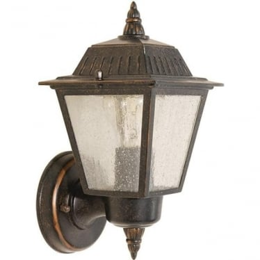 GZH Highnam wall lantern - Weathered Bronze