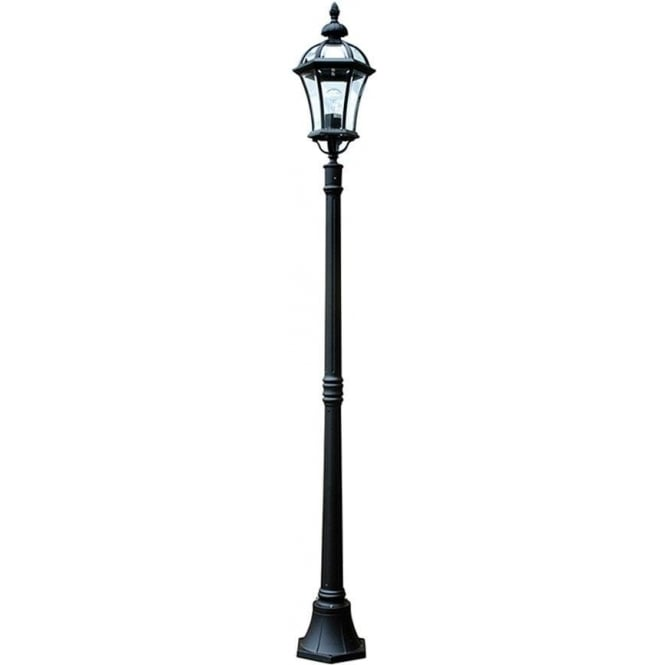 Gardenzone GZH Ledbury lamp post - Black