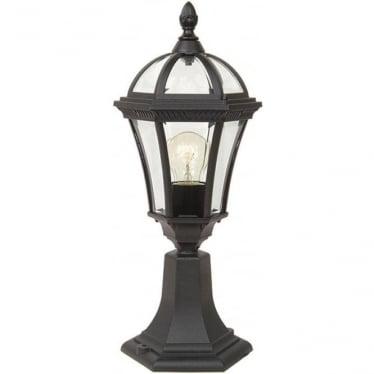 GZH Ledbury pedestal lantern - Black