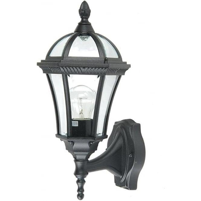 Gardenzone GZH Ledbury wall lantern - Black
