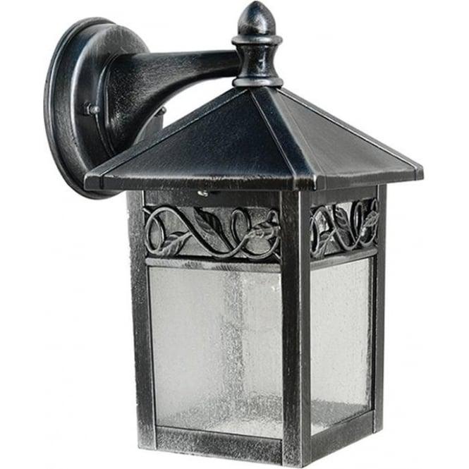 Gardenzone GZH Winchcombe wall lantern - Black/Silver