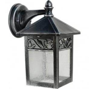 GZH Winchcombe wall lantern - Black/Silver