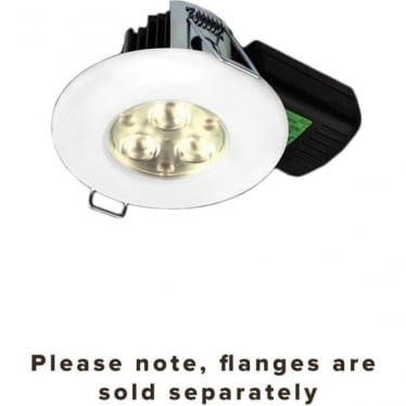 H2 PRO 550 T Dimmable fire-rated LED downlight with terminal block