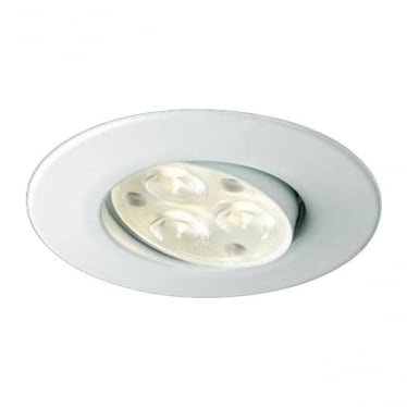 H4 FF Adjustable Dimmable Fire-Rated LED Downlight - WHITE