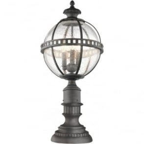 Halleron 3 light Pedestal Lantern Londonerry