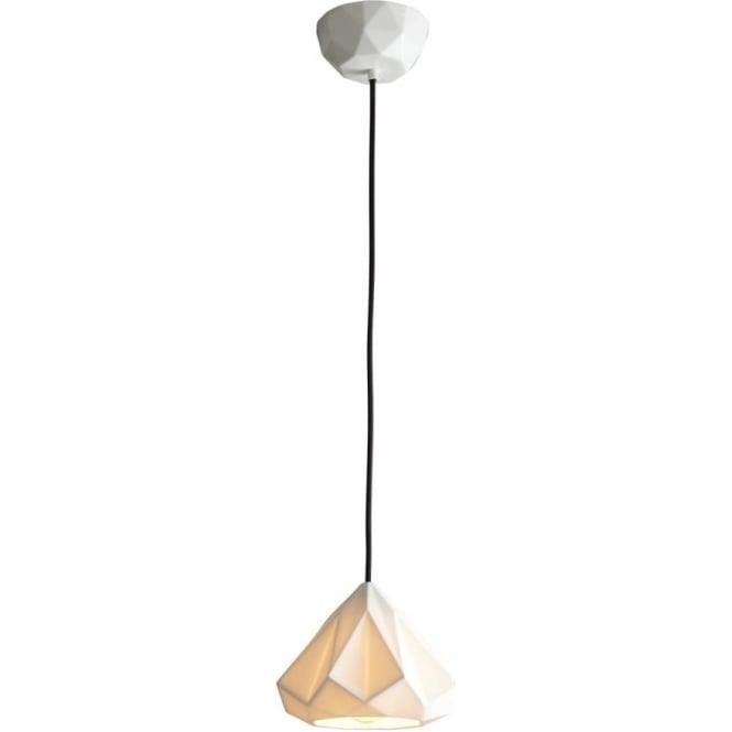 Original BTC Lighting Hatton 1 Pendant Light - Natural