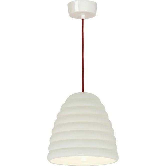 Original BTC Lighting Hector Bibendum Pendant Light - size 3 - Natural with a choice of cable colour