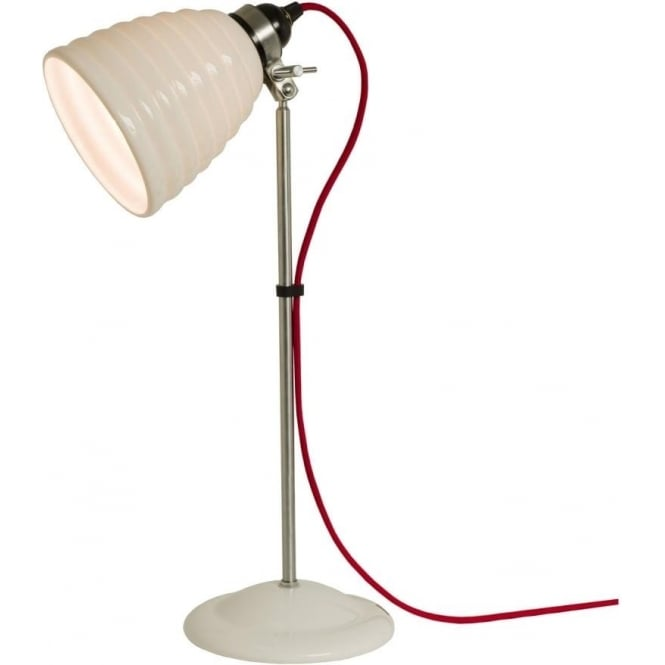 Original BTC Lighting Hector Bibendum Table Light - Natural with choice of cable colour