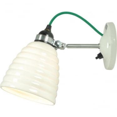 HECTOR BIBENDUM WALL LIGHT, SWITCHED - colour options