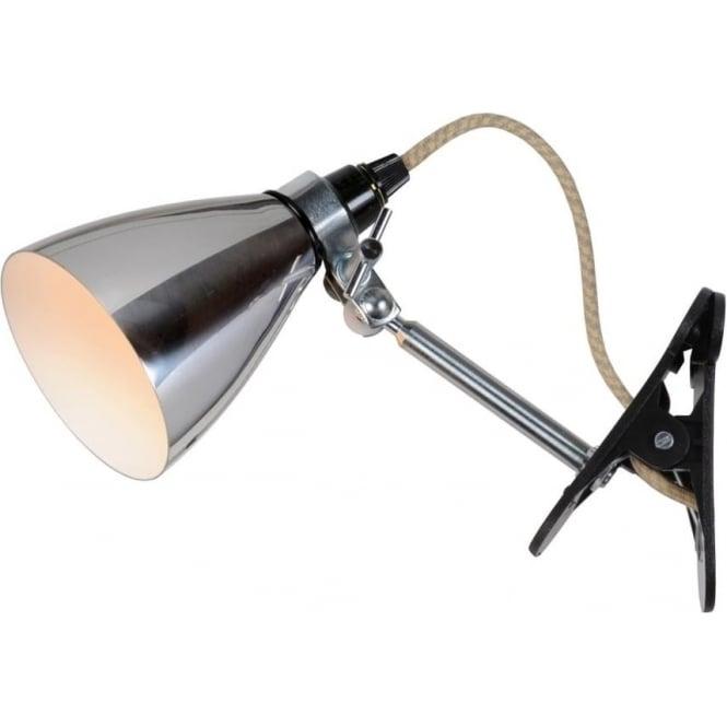 Original BTC Lighting HECTOR METAL CLIP LIGHT - Polished Aluminium