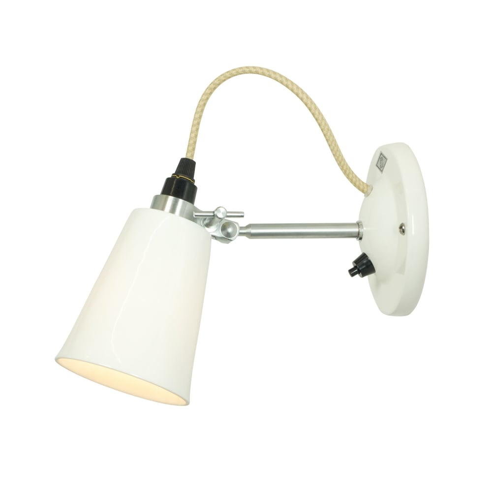 huge selection of ed0d6 a41fd HECTOR SMALL FLOWERPOT SWITCHED WALL LIGHT - Natural White