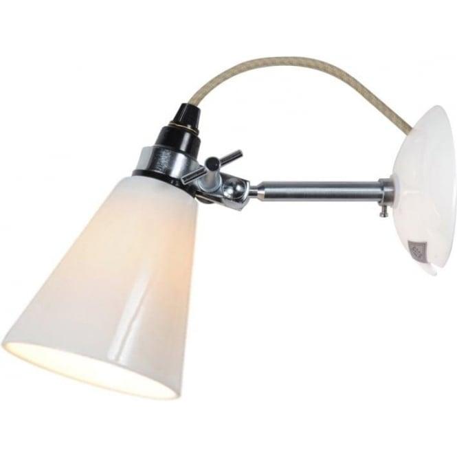 Original BTC Lighting HECTOR SMALL FLOWERPOT WALL LIGHT - Natural White