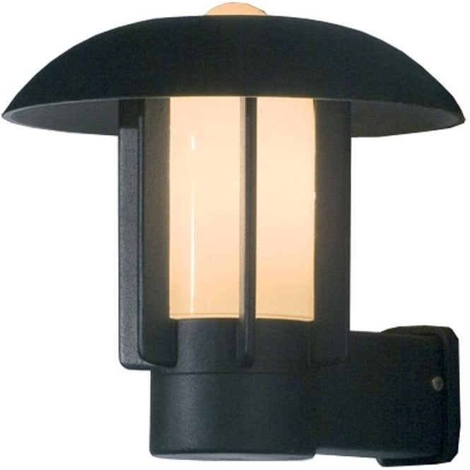 Konstsmide Garden Lighting Heimdal wall up light - black 401-752