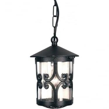 Hereford Porch chain Lantern - Black