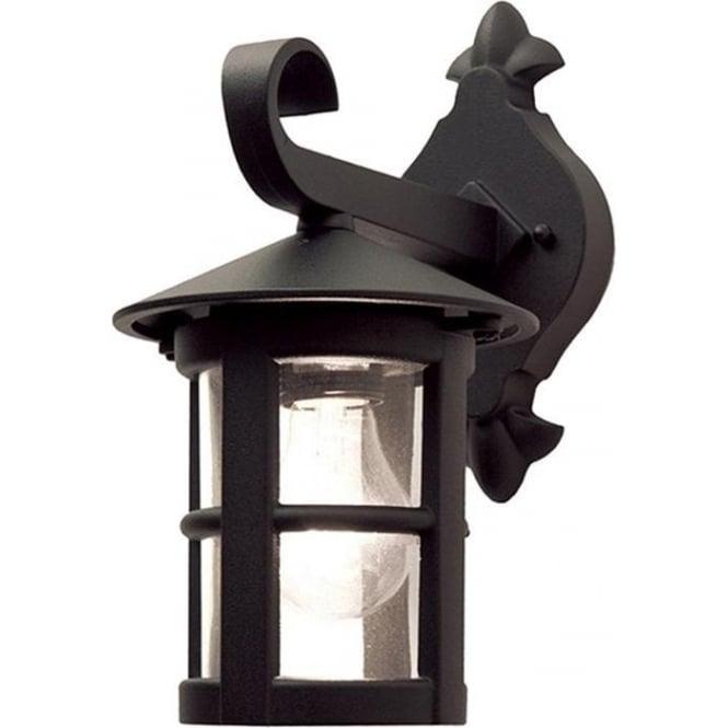 Elstead Lighting Hereford Wall Down Lantern - Black