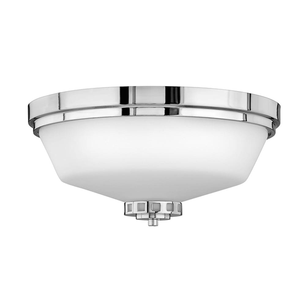 factory price b06f0 c34e8 Hinkley Lighting Ashley Flush Mount Fitting Polished Chrome