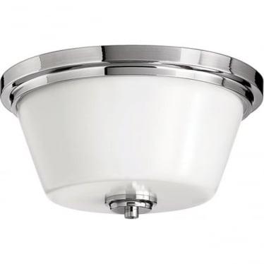 Avon flush mount fitting Polished Chrome
