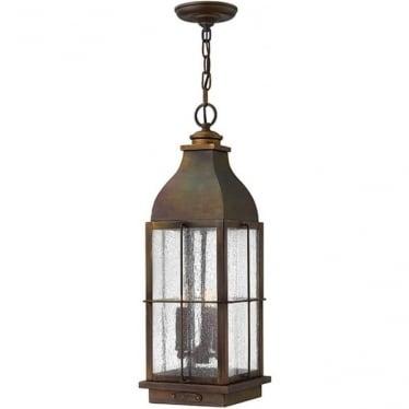 Bingham chain lantern - Sienna