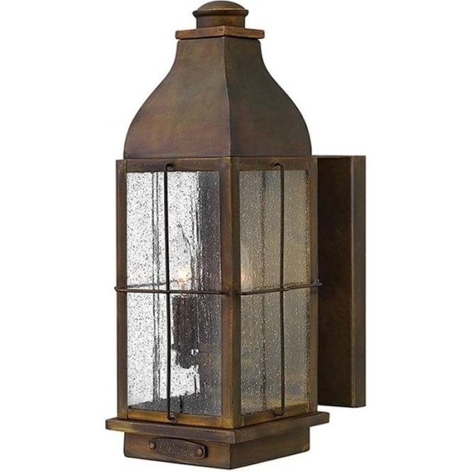 Hinkley Lighting Bingham medium wall lantern - Sienna