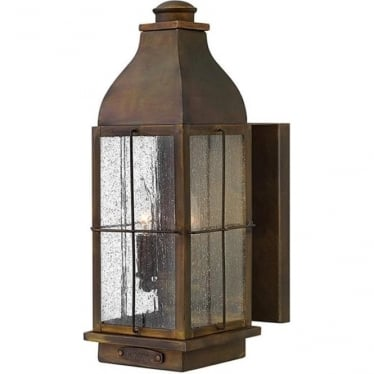 Bingham medium wall lantern - Sienna