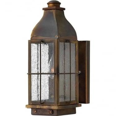 Bingham small wall lantern - Sienna