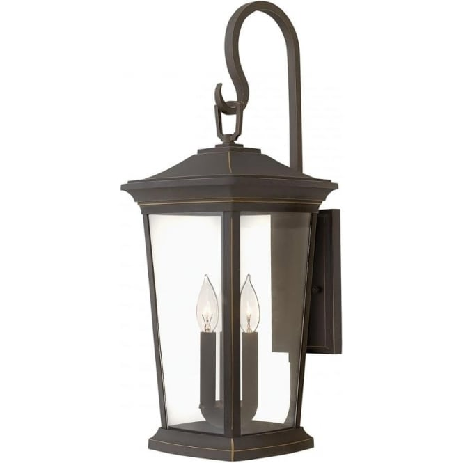 Hinkley Lighting Bromley Large Wall Lantern Oil Rubbed Bronze