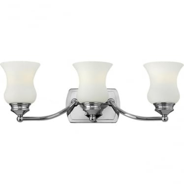 Constance 3 Light Above Mirror Light Polished Chrome