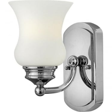 Constance Single Wall Light Polished Chrome