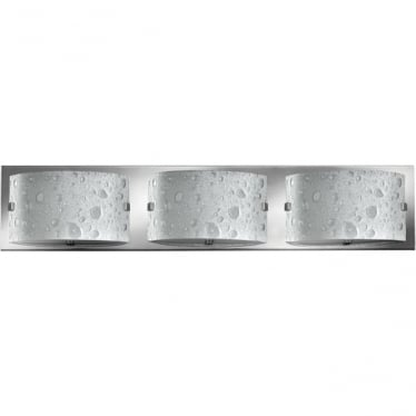 Daphne 3 Light Bathroom LED Wall Light IP44 Polished Chrome