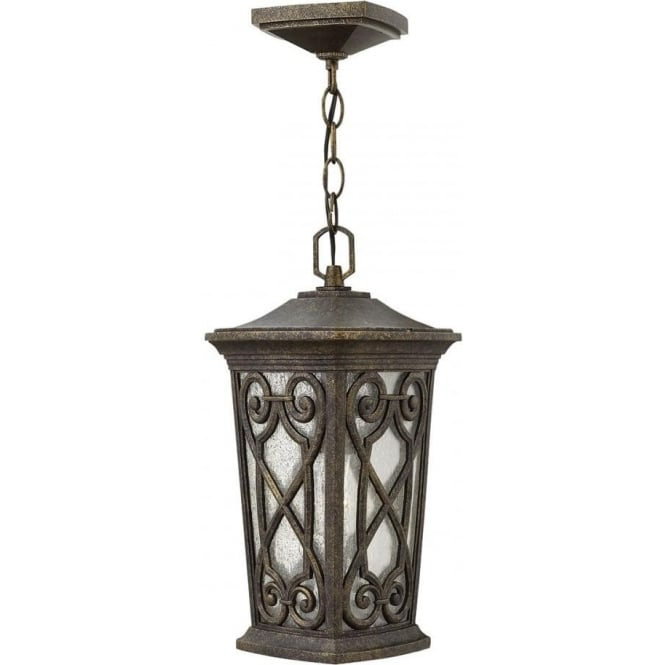 Hinkley Lighting Enzo Small Chain Lantern Autumn