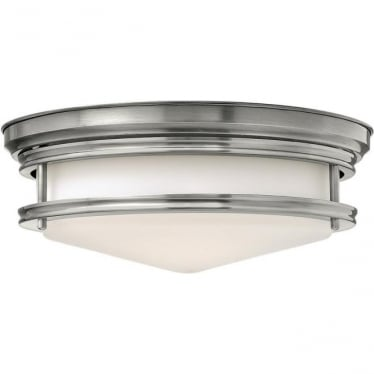 Hadley Flush Mount Fitting Antique Nickel