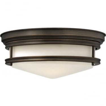 Hadley Flush Mount Fitting Oil Rubbed Bronze