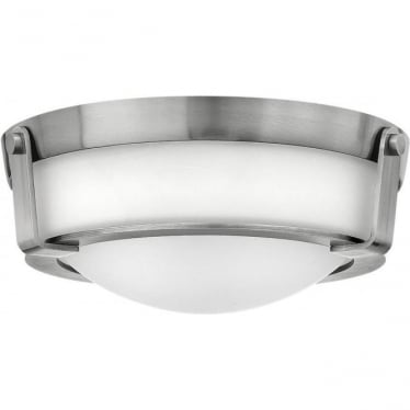 Hathaway Small Flush Mount Antique Nickel