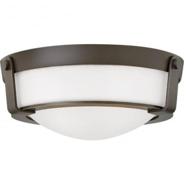 Hathaway Small Flush Mount Olde Bronze