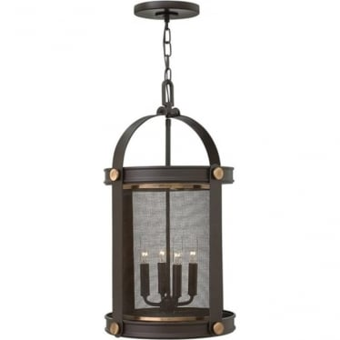 Holden 4 light Pendant Chandelier Buckeye Bronze