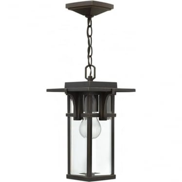 Manhattan chain lantern - Bronze