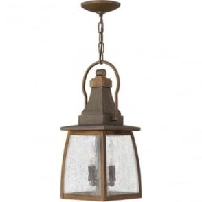 Montauk Chain lantern - Sienna